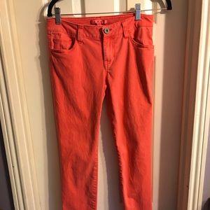 Cabi red skinny jeans Sz 4